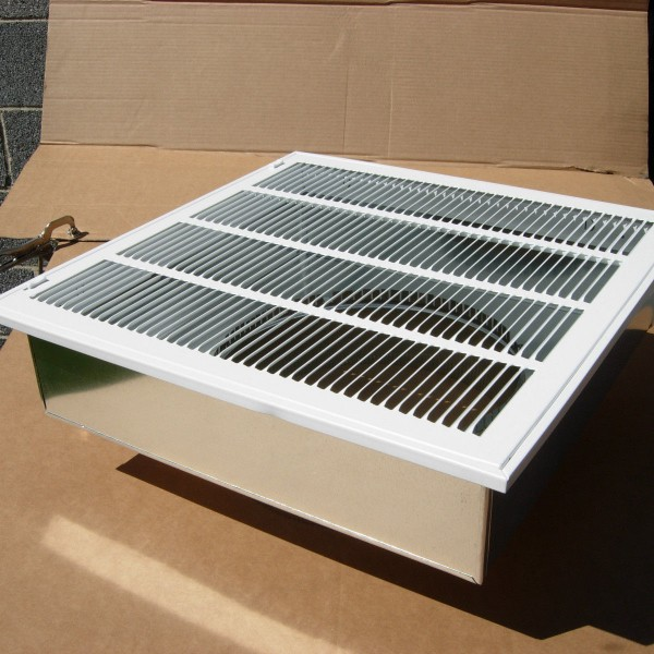 20 X20 Furnace Return Air Kit With Filter Grille Box And
